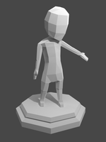 Low Poly Character by VPellen