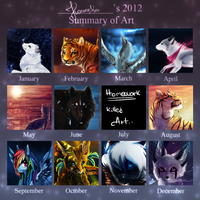 2012 Summary of Art by Konveekou