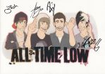 all time low by re-flamed