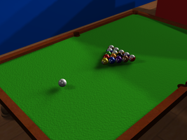 Pool Table Render by turnbuckle