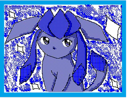 Glaceon flip :3 by ShinyGlaceon42