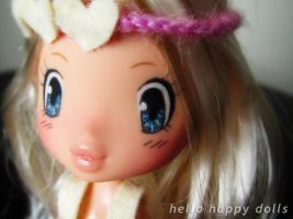 kawaii manga girl bratz kid repaint 1 by hellohappycrafts