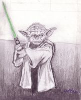 Massa Yoda commin whup yo ass by Skullvonavich