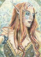 Jewel of Valinor - ACEO by Carol-Moore