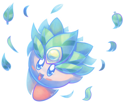 Leaf Kirby by AssassinKnight-47