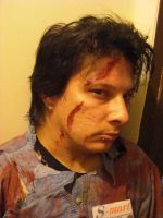 Evil Dead, Ash Cosplay Costume by taintedscars