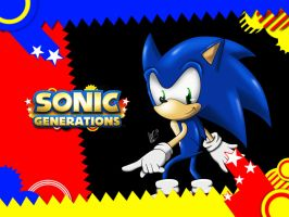 Sonic Generations - Wallpaper by AlexTHF