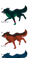 Wolves on the Run - Adopts! - Adopted by Feralx1