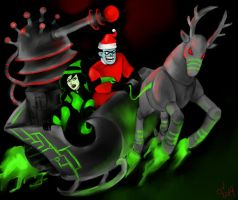 All I want  for Christmas is WORLD DOMINATION!!! by Livyscissorelf