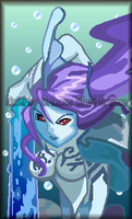 Undine Pixel by Shadow-Dinosaur