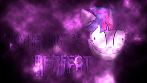 'Everything Must Be PERFECT' Twilight Wallpaper by BlueDragonHans