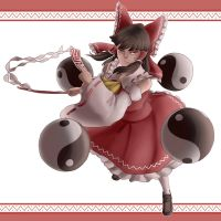 This needs more Reimu by j0s0f0