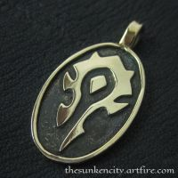 The Horde pendant (bronze) by Sulislaw