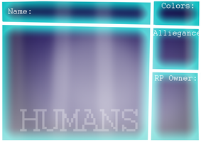 StR Humans Application Sheet by Dawnehpants