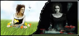 Mrs Lovett - Good vs Evil by ecilARose
