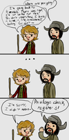 Hobbit Privilege by TheMightyNarwhal
