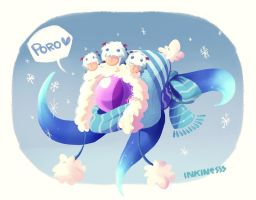 Winter Wonder Vel'koz by inkinesss