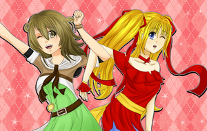 Happy Birthday Collab with DianaTan by pandapia