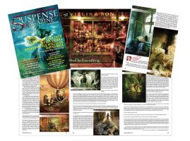 Suspense Magazine-October 2011 by Ellyevans679