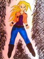 Vegetas 2 Daughter Jin by TriciaRayy64