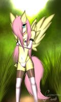 .:Fluttershy:. by Gamermac