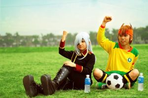 Inazuma Eleven Cosplay - Go Japan by darknaito