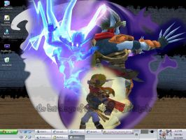 My Desktop: Light and Dark Jak by jezcardia