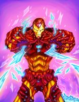 The Iron Man by eldeivi