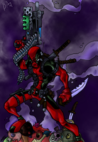 DEADPOOL Colored by Dreekzilla