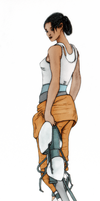 Chell by Shrinking-Universe