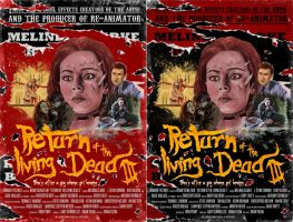 Return of the living Dead 3 Fanart Posters by TobiasWeinald
