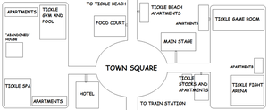 Map of Tickle Town by ticklguy12