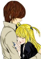 Light Yagami e Misa Amane by martyki