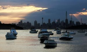 Sydney sunset from Watsons Bay by CouchyCreature