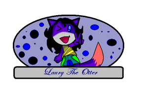 Laury Badge by laurytheotter
