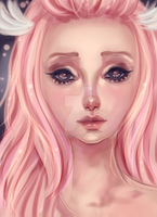 Pink Angel by BeautifulMiracle