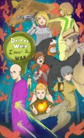 Doctor Who: Love and War by KindCoffee