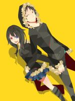 request) Izaya x Isana by Silverzzz