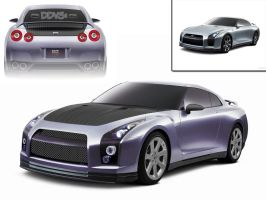 Nissan GTR Stage 3 Modified by ddvs1