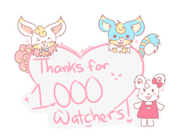 Thank you for 1k+ watchers!! - Fixed by PeppermentPanda