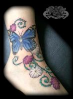 Butterfly by state-of-art-tattoo