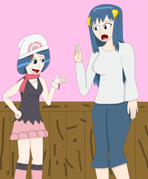 Pokemon Mom Daughter Swap Part 2 by Dracoknight545