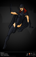 TRDL 2011 Series No 78 - Batwoman TRDL Redesign by TRDLcomics