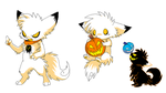 Pumpkin fox by Lost-Mutt
