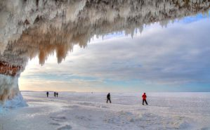 Apostle Islands Ice Caves by AmblingPhotographer