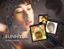SuJu: Eunhyuk Wallpaper by KirstyR