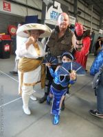 Supanova 2013 - Mortal Kombat family by fulldancer-alchemist