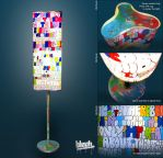 Graffiti Lamp by TheArtofBlouh