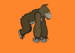 Gorilla-animation-sample by bricx