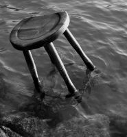 Chair in the Water by KurtisTrent